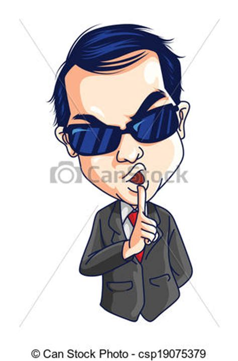 secret agent clip art free vectors illustration of secret agent csp19075379 search