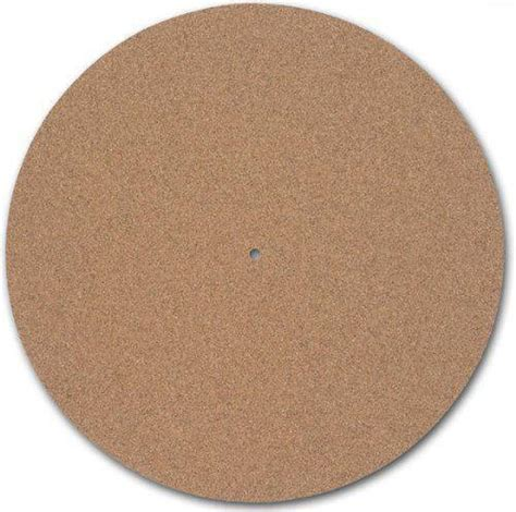 Audiophile Turntable Mat by New Turntable Toys Tc 1 Cork Audiophile Turntable Mat