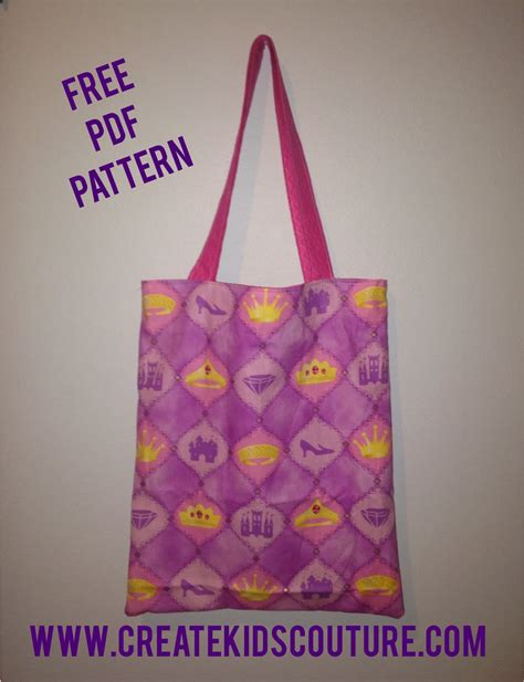 reversible tote bag pattern free create kids couture free tutorial tuesday easy