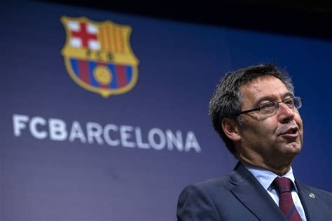 barcelona president barcelona president josep maria bartomeu orders club to