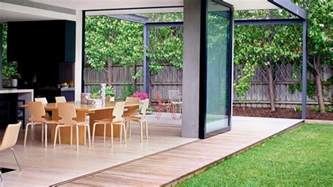 outdoor living space ideas beautiful blended outdoor indoor living space design ideas