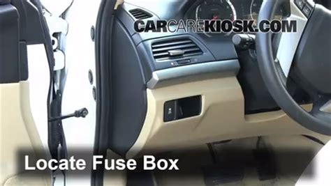 interior fuse box location   honda accord  honda accord lx   cyl