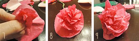 How To Make Crinkle Paper Flowers - dollar store crafts the hyper house