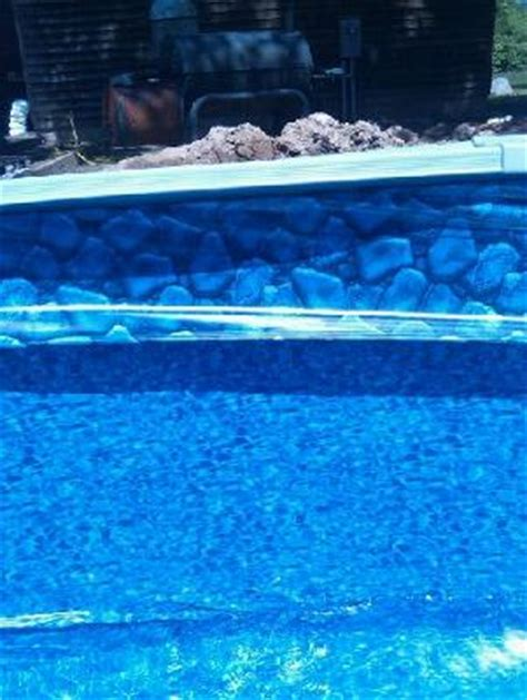 beaded pool liner installation oval pool beaded liner installation