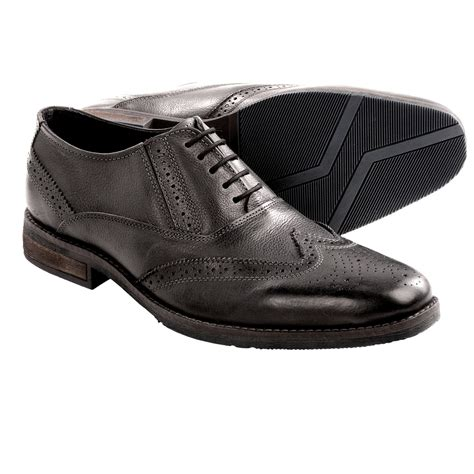 steve madden virgo wingtip shoes oxfords for in black