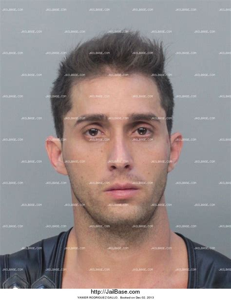 Miami Dade Arrest Records Search Yanier Rodriguez Gallo Arrest History
