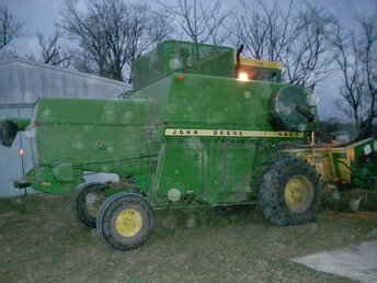 Used Farm Tractors For Sale John Deere 4400 Diesel 2009