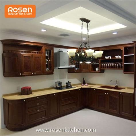 China Customized Contemporary Natural Dark Cherry Wood