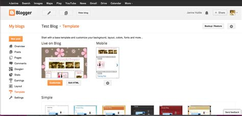tutorial blogspot template blogspot in post share buttons with twitter handle