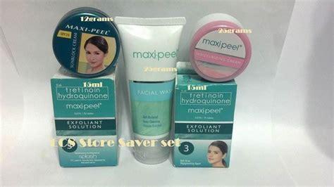 Toner Maxi Peel 5 pcs maxi peel 3 exfoliant anti acne peeling bleaching anti aging maxipeel health and