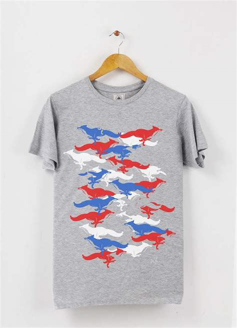 Tshirt Fox 03 by Fox Camo Collection Jo Yana