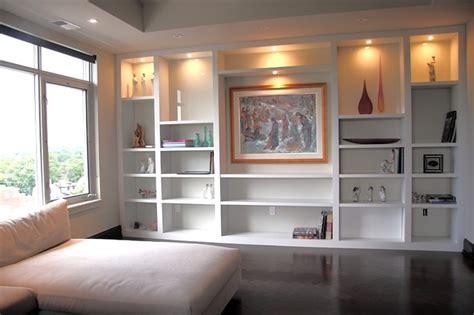 contemporary white bookshelf contemporary living room