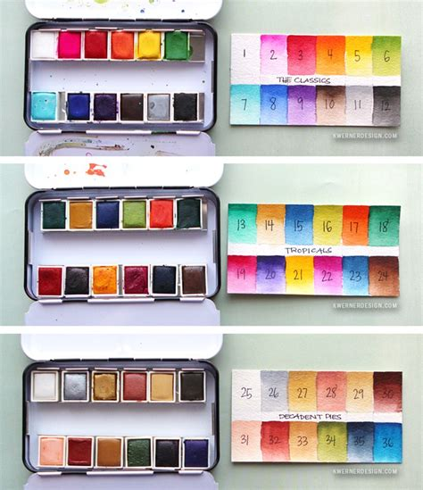 pan colors new watercolor pan sets from prima coloring book review