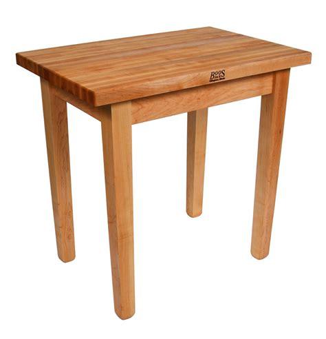kitchen chopping table butcher block tables casual cottage