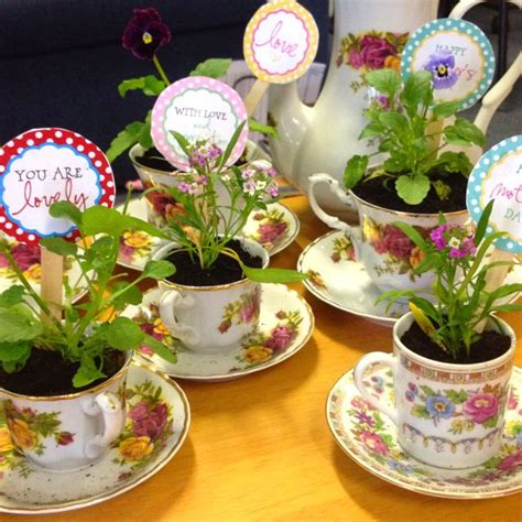 The Their Tea by Mothers Day Crafts After The Tea They