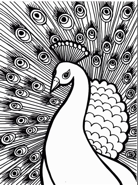 animal coloring pages peacock coloring now 187 blog archive 187 bird coloring pages