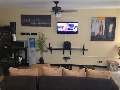living room media center vacation corporate rentals in cebu philippines