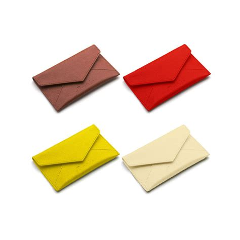 City Chic Gift Card - pineider city chic leather business card holder envelope shaped