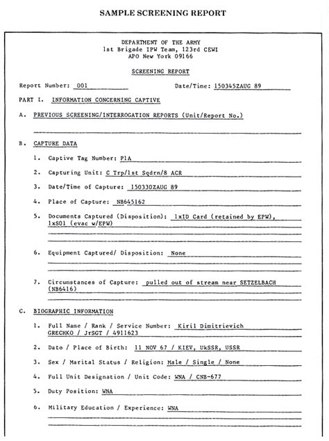 dsmb report template 100 intervention report template 100 standards and