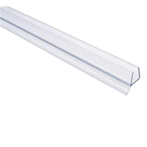 Shower Door Bottom Seal Home Depot Showerdoordirect 98 In L Frameless Shower Door Seal For 3 8 Glass 38ddbs98 The Home Depot
