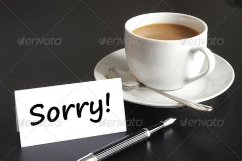 sorry card template sorry card exle of sorry card template sle templates