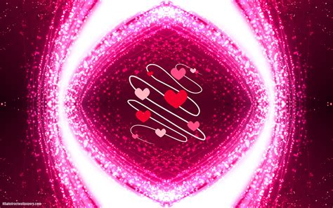 girly abstract wallpaper pink abstract background with love hearts hd abstract