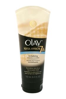 Olay Total Effect Foaming Cleanser olay total effects revitalizing foaming cleanser 6 5 oz cleanser fragranceshop