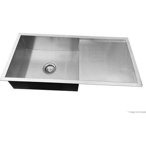 buy stainless steel sink stainless steel kitchen sink w drainboard 960x450mm buy
