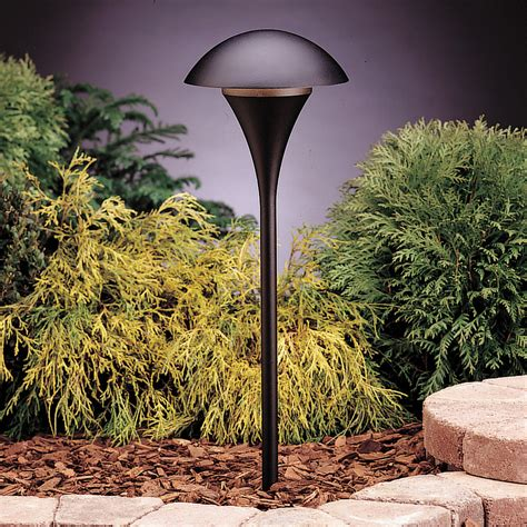 120v Landscape Lighting Kichler 15236bkt Eclipse 120v Path Spread Light