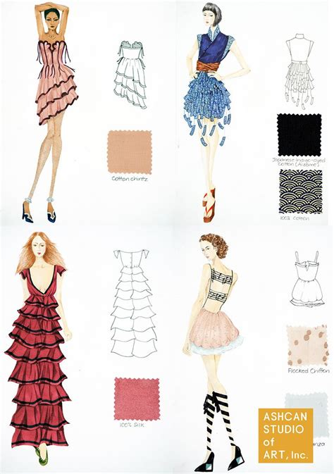 fashion design portfolio sles 39 best images about student fashion design portfolio work