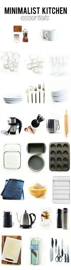 best kitchen essentials 1000 ideas about minimalist kitchen on pinterest