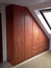 Sloped Ceiling Wardrobe by 24 Best Images About Closets With Slanted Ceilings On