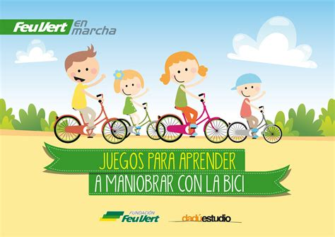 imagenes de niños jugando en bicicleta feu vert en marcha 187 juegos para aprender a maniobrar con