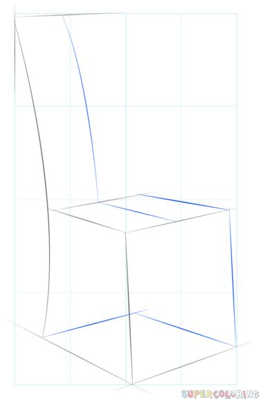 how to draw a armchair how to draw a chair step by step drawing tutorials
