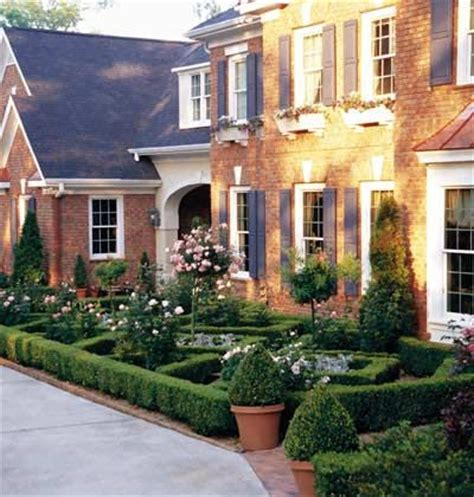 formal front garden front gardens for ranch houses gardens