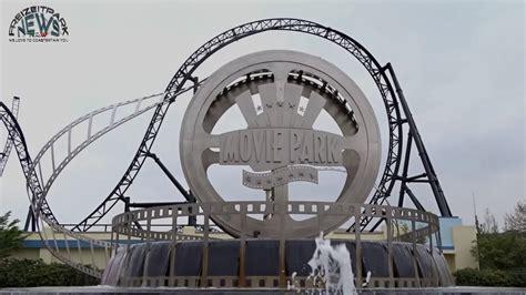 film it park movie park germany parkvideo april 2017 youtube