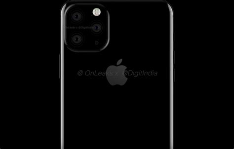 Iphone 11 Leak Iphone 11 Tripla Fotocamera E Notch Rimpicciolito Digitalic