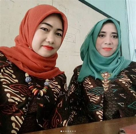 Seragam Linmas Guru 31 model baju batik guru modern wanita pria seragam terbaru 2018 model baju muslim kebaya