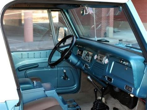 jeep jeepster interior impressive build 1967 jeepster commando bring a trailer