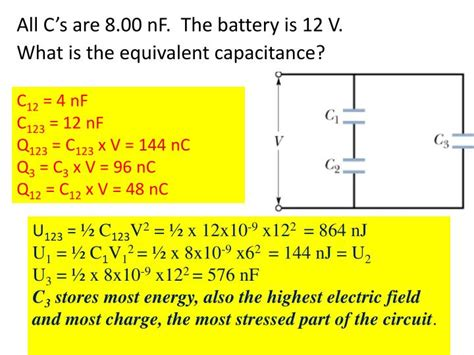 what is the equivalent capacitance of the capacitor network what is the equivalent capacitance of the four identical capacitors in the figure 28 images