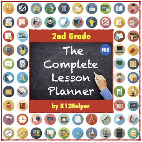 2nd Grade Lesson Plans Template: All Subjects (w/ Dropdown