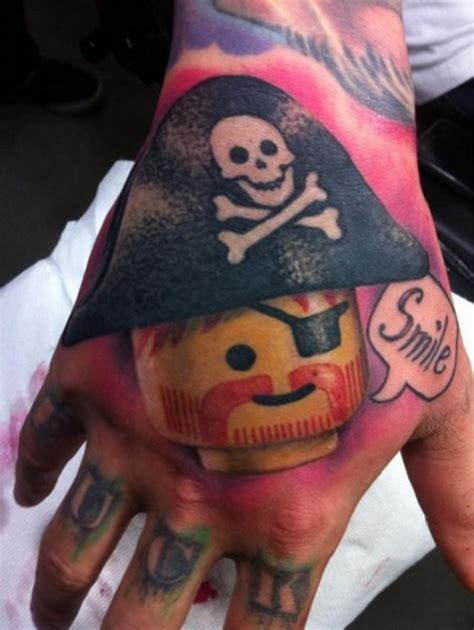 tattoo pirate cartoon pirate lego tattoo tattoos pinterest pirate lego
