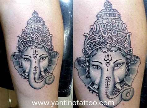 recommended tattoo artist bali black grey yantino tattoo