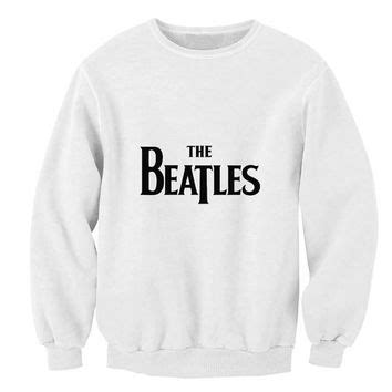 Sweatshirt The Beatles Grey shop the beatles sweatshirt on wanelo
