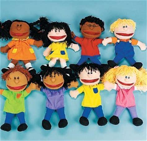 sock puppets with preschoolers multicultural children glove puppets set preschool ebay