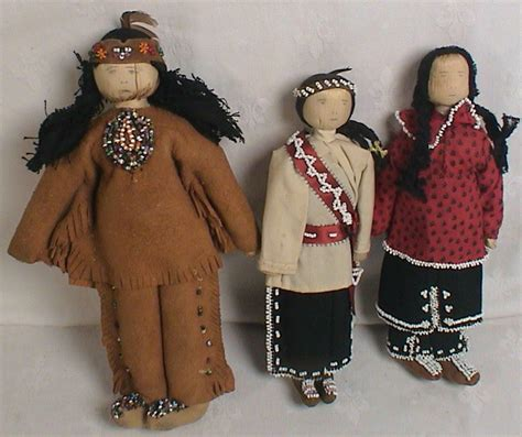american corn husk dolls for sale 3 vintage american indian beaded dolls corn husk
