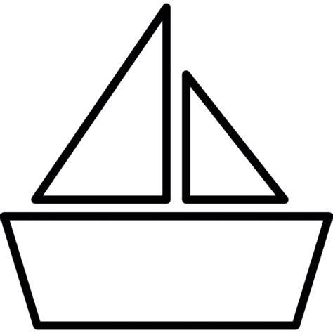 bootje tekenen barco de papel descargar iconos gratis