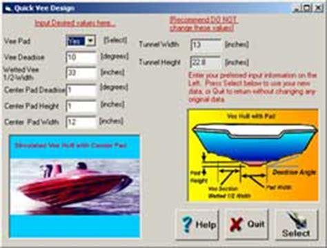 flat bottom boat porpoising vee boat design program software by aeromarine research