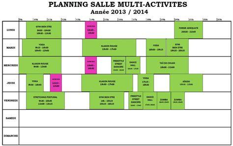 Modã Le Plan D Excel Gratuit Modele Planning Occupation Salles Ccmr