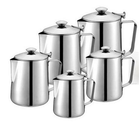 coffee maker espresso latte moka stainless steel pot tea pot tool milk cup jug ebay